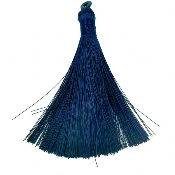 Large Dark Blue Tassel